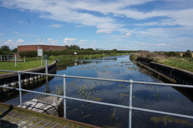 River Hull at Hempholme Lock