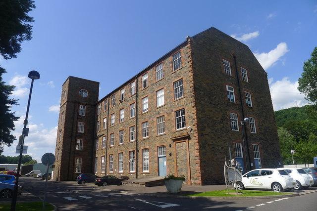 Netherdale Mill, Dale Street, Galashiels