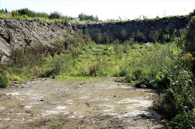 Disused Quarry near Migvie