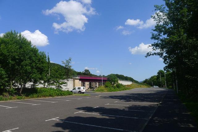 Currie Road car park, Galashiels