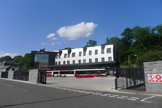 Bus station, Galashiels transport interchange