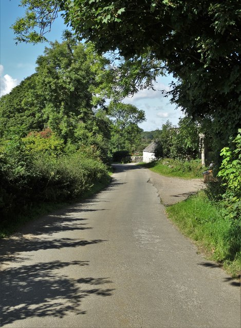 Entering the hamlet of Margrie