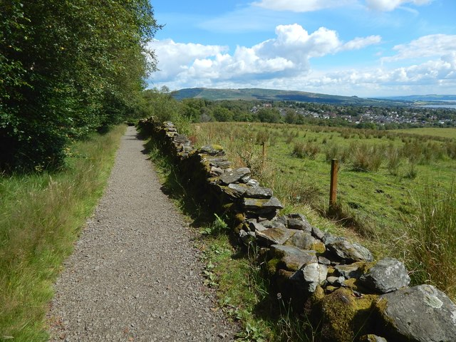Path from Ardencaple Wood