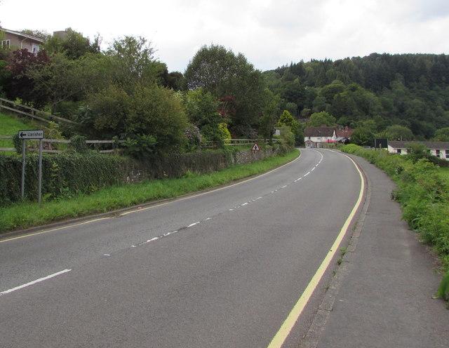 Down the A466, Tintern