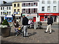 H4572 : Tourists, Omagh by Kenneth  Allen