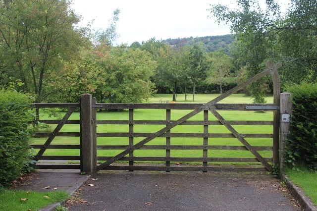 Entrance to Llangynidr  Community Burial Ground