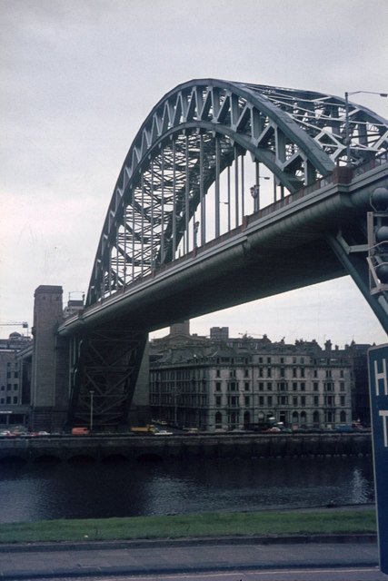 Tyne Bridge from Hillgate (from the east)