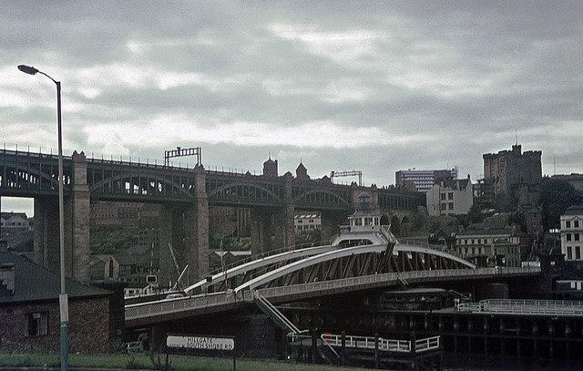 Swing Bridge over River Tyne