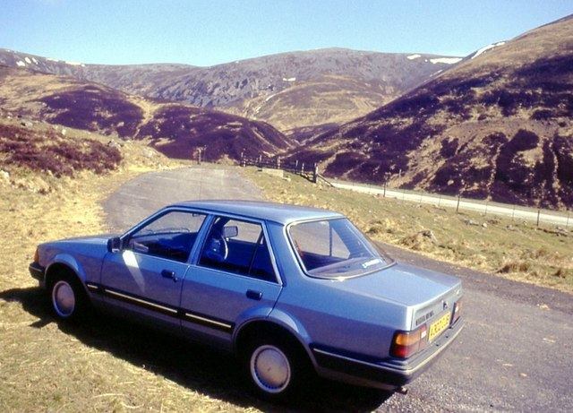 The Old Military Road through Glen Shee
