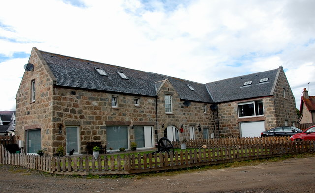Former mill, Monymusk