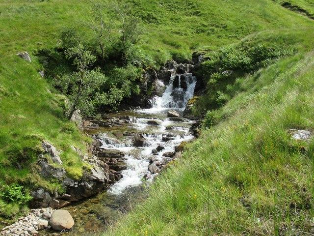 Waterfall on Allt Coire Laoigh near Tyndrum