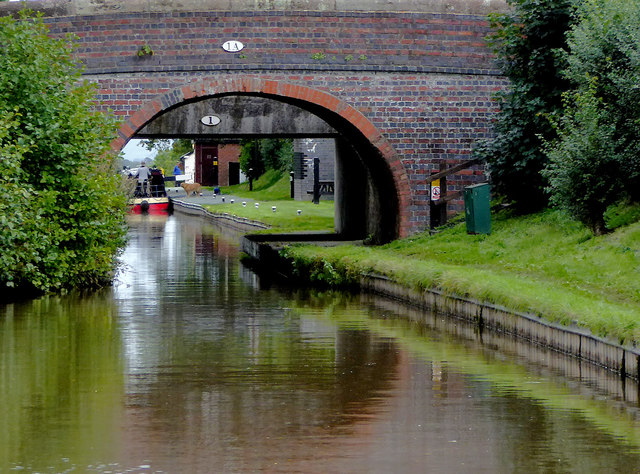 Hurleston Bridge south of Barbridge in Cheshire