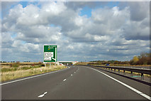 SK8839 : A1, Gonerby Moor by Robin Webster