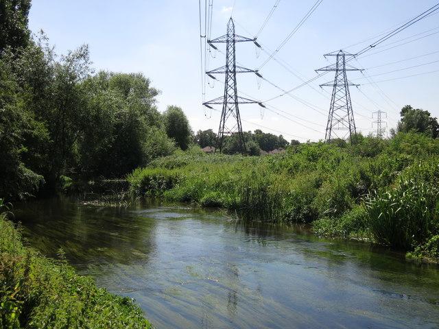 The River Colne northeast of Palmer's Moor Farm (3)