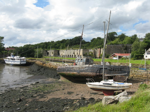 Charlestown Harbour and limekilns