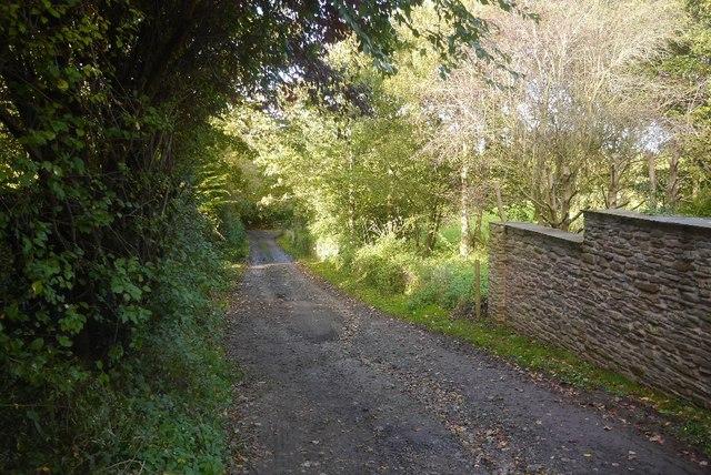 Farm road, Great Marston