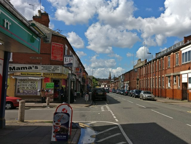 St Saviour's Road in North Evington, Leicester