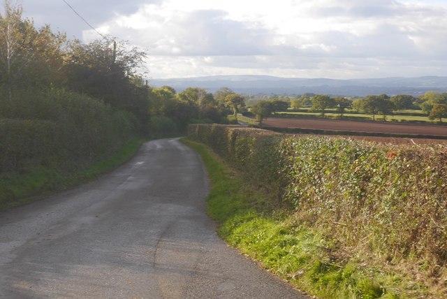 Pencombe to Risbury road