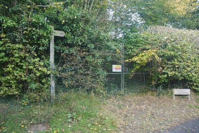 Gas enclosure on Hegdon Hill
