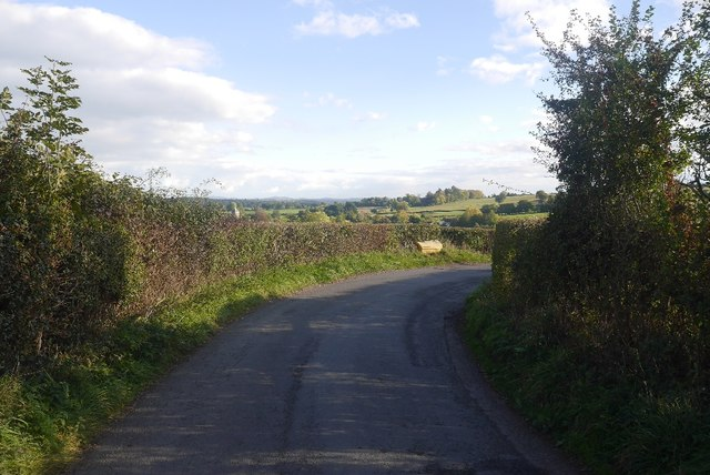 Risbury to Pencombe road