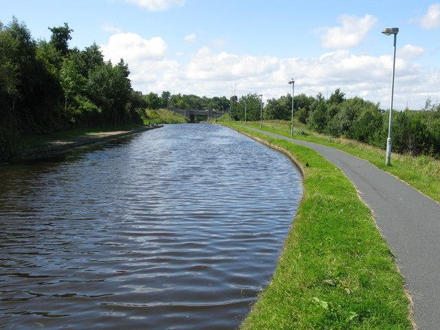Union Canal at Wester Hailes, Edinburgh