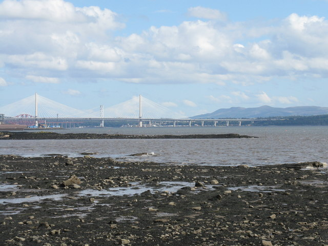 Foreshore at Limekilns