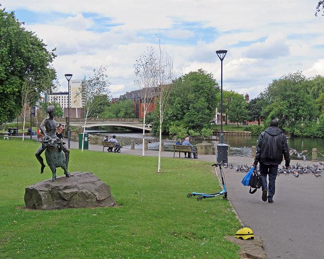 Derby: Riverside Gardens