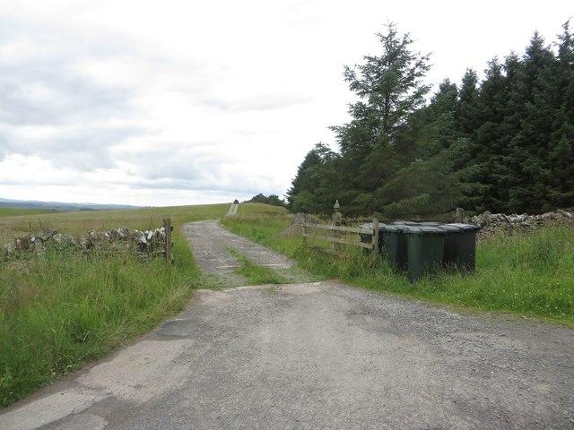 Lane to Scotchcoultard