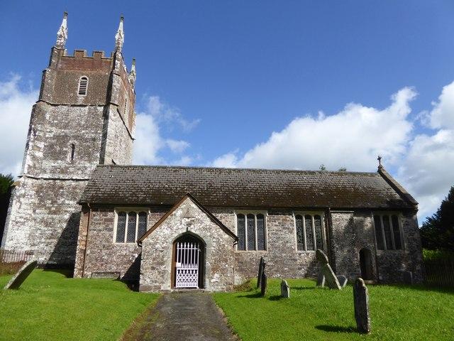 Cruwys Morchard church
