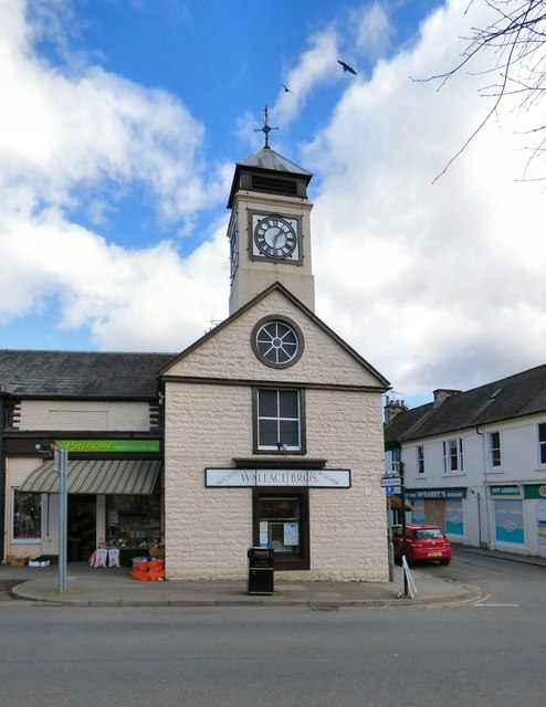 Moffat Old Courthouse