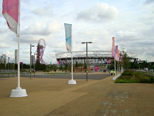London Stadium and Orbit