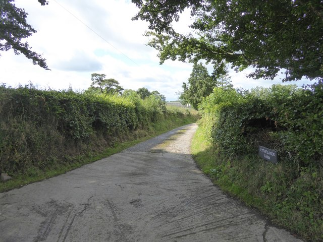 Track to Lythe-land Farm
