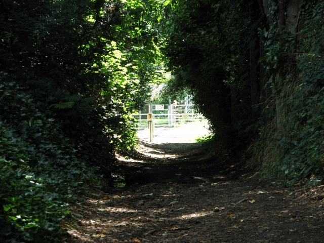 Approaching the end of Church Lane