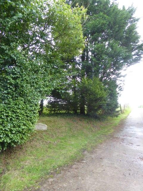 Entrance to Hollowmoor Farm