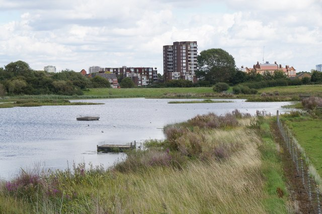View from the Wildside Hide at the London Wetland Centre, Barnes