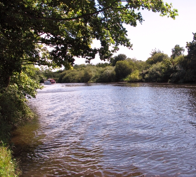 The River Yare by Brundall