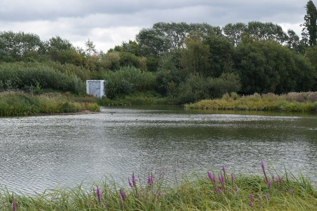 The SE corner of the London Wetland Centre, Barnes