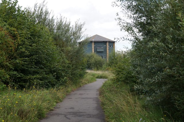 The Peacock Tower at the London Wetland Centre, Barnes