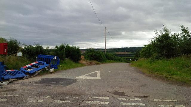 Kinbeachie road end