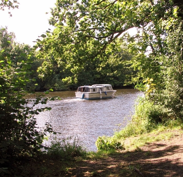 A cruiser on the River Yare
