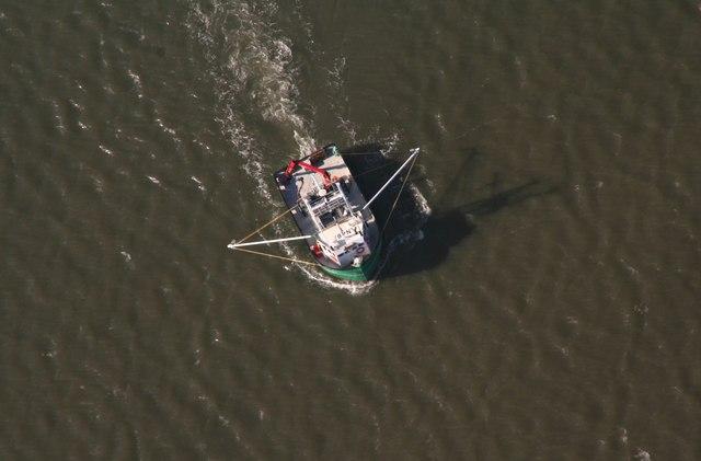 TESSA - LN 487 off Saltfleet Haven: aerial 2017