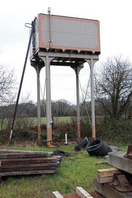 Water tank - Totnes Riverside Station