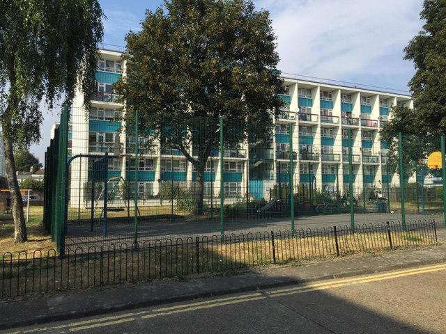 Maisonettes, 32-108 Dartford Street, Gateway Estate, Walworth, south London