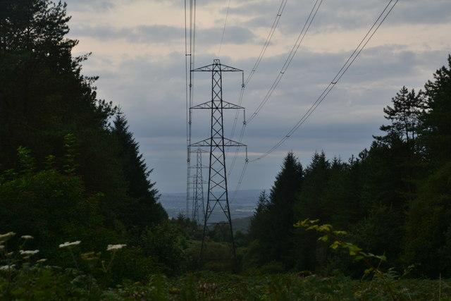 Neath Port Talbot : Pylons
