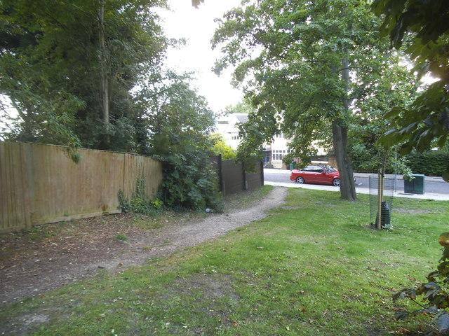 Green on West Heath Road