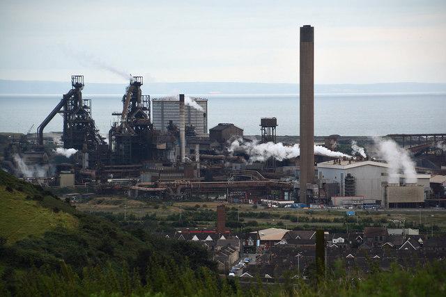 Neath Port Talbot : Steel Works