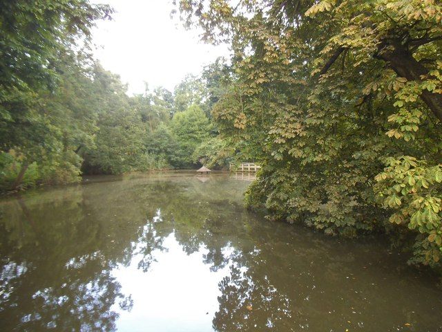 Pond in Golders Hill Park