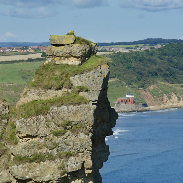 Stack above Cayton Bay