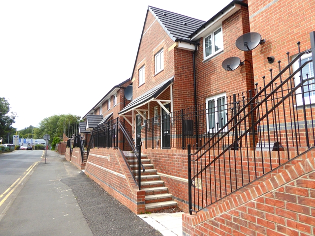 New houses on Derwentwater Road