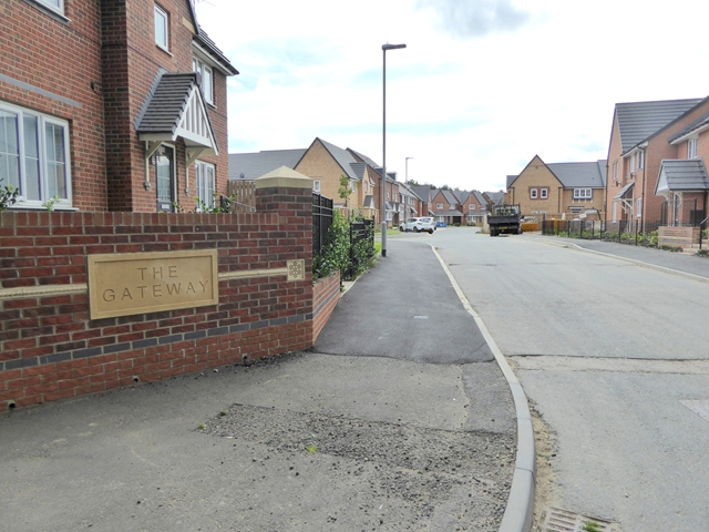 New houses at the Gateway
